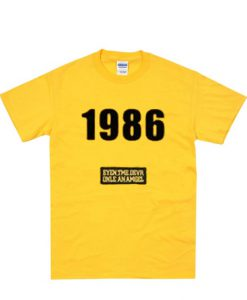 1986 graphic t-shirt