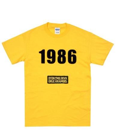 1986 graphic t-shirt