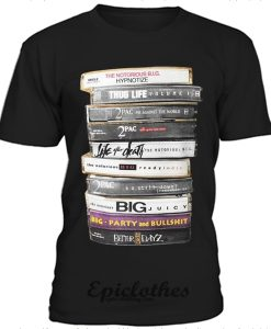 2 Pac CD collections t-shirt