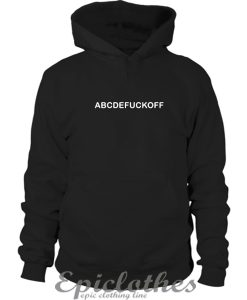 ABCDE Fuck Off Hoodie