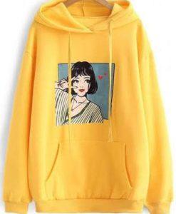 Anime Girl Hoodie