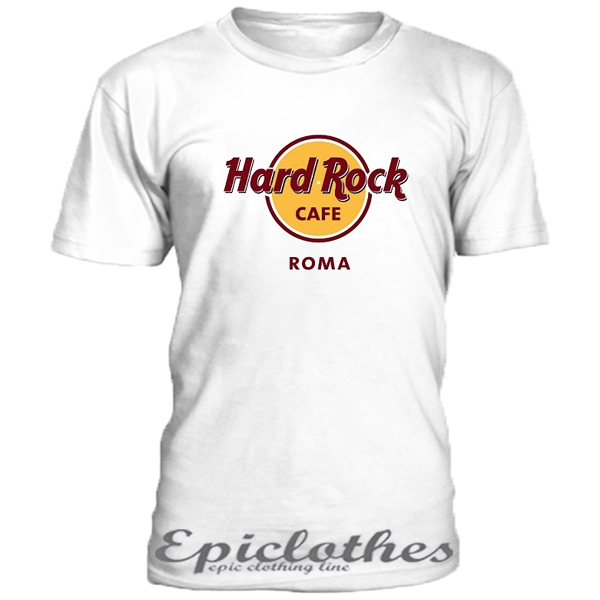 hard rock cafe roma t shirt epiclothes. Black Bedroom Furniture Sets. Home Design Ideas