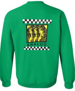 Analog Checkered Sweatshirt