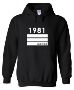 1981 Inventions Hoodie Pullover