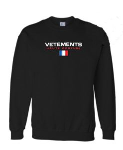 Vetements Haute Couture Sweatshirt