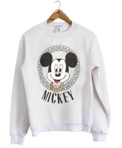 Versacesque Mickey Mouse Sweatshirt