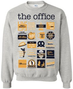 The Office Quote Mash Up Funny Sweatshirt