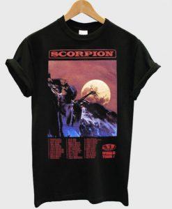 Drake Scorpion World Tour T-shirt