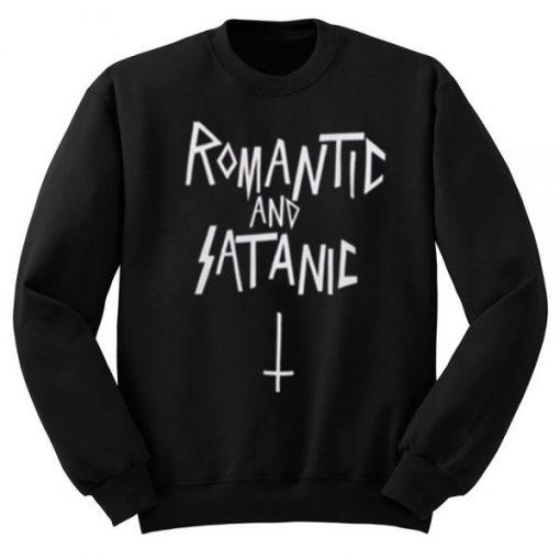 Romantic And Satanic Sweatshirt