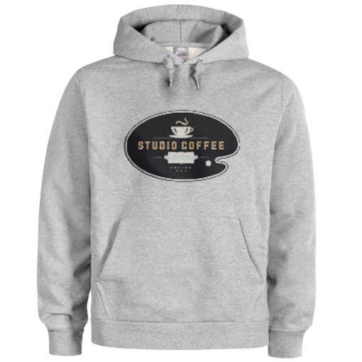 studio coffee hoodie