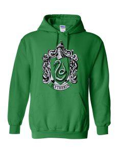 Slytherin Green Hoodie