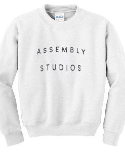 assembly studios sweatshirt