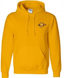 Planet Gold Yellow Hoodie