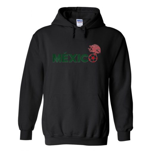 mexico eagle soccer ball hoodie