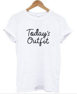 Today Outfit White T Shirt