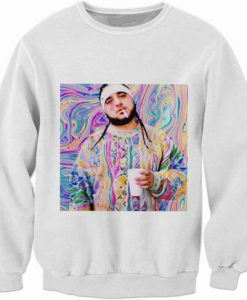 asap yams graphic sweatshirt