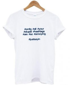 #hastag T shirt