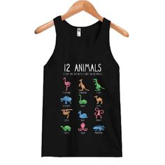 12 Animals that are tanktop